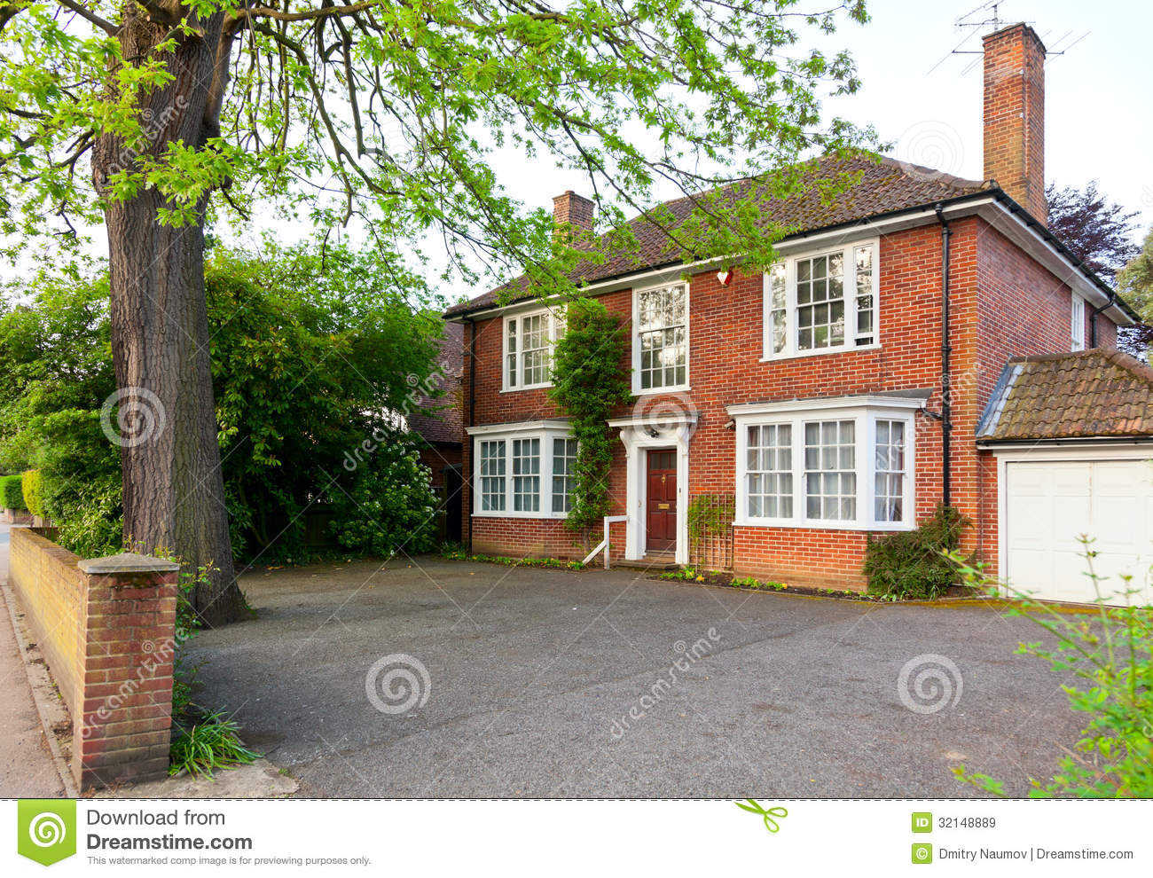 English brick house royalty free stock images image for Traditional brick homes
