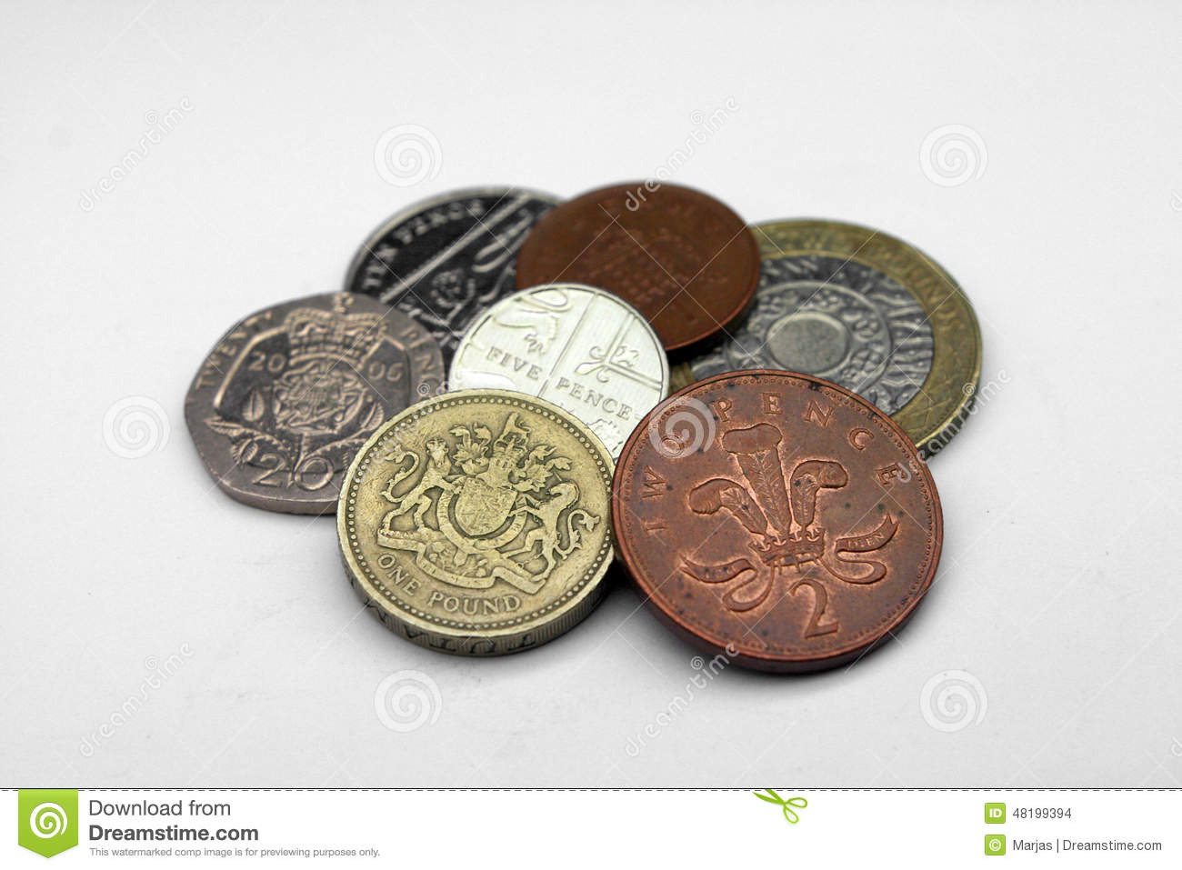 Values of Coins of the UK Current uk coins pictures
