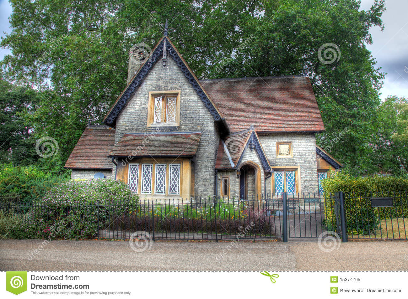 English Cottage Stock Image Image Of Scenery England