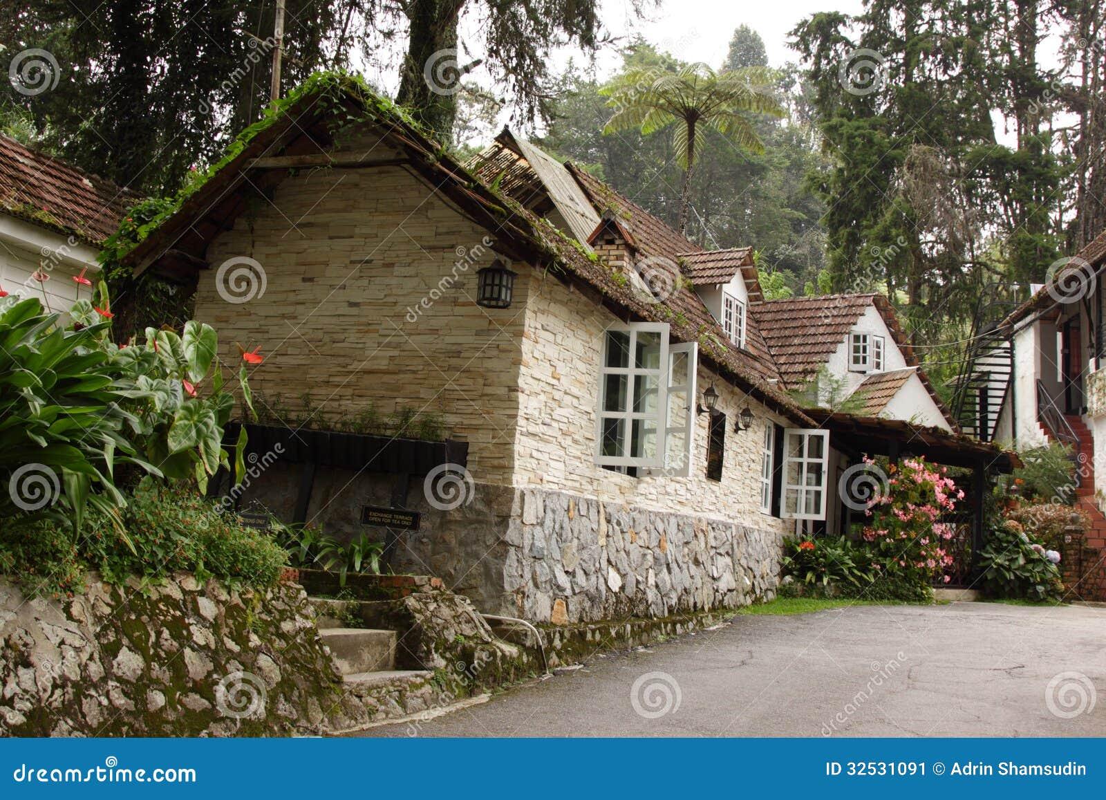 English Cottage Stock Image Image 32531091