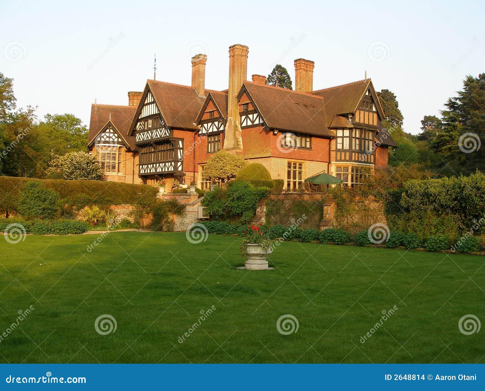 English cottage mansion stock photo image of cottage for Cottage mansion