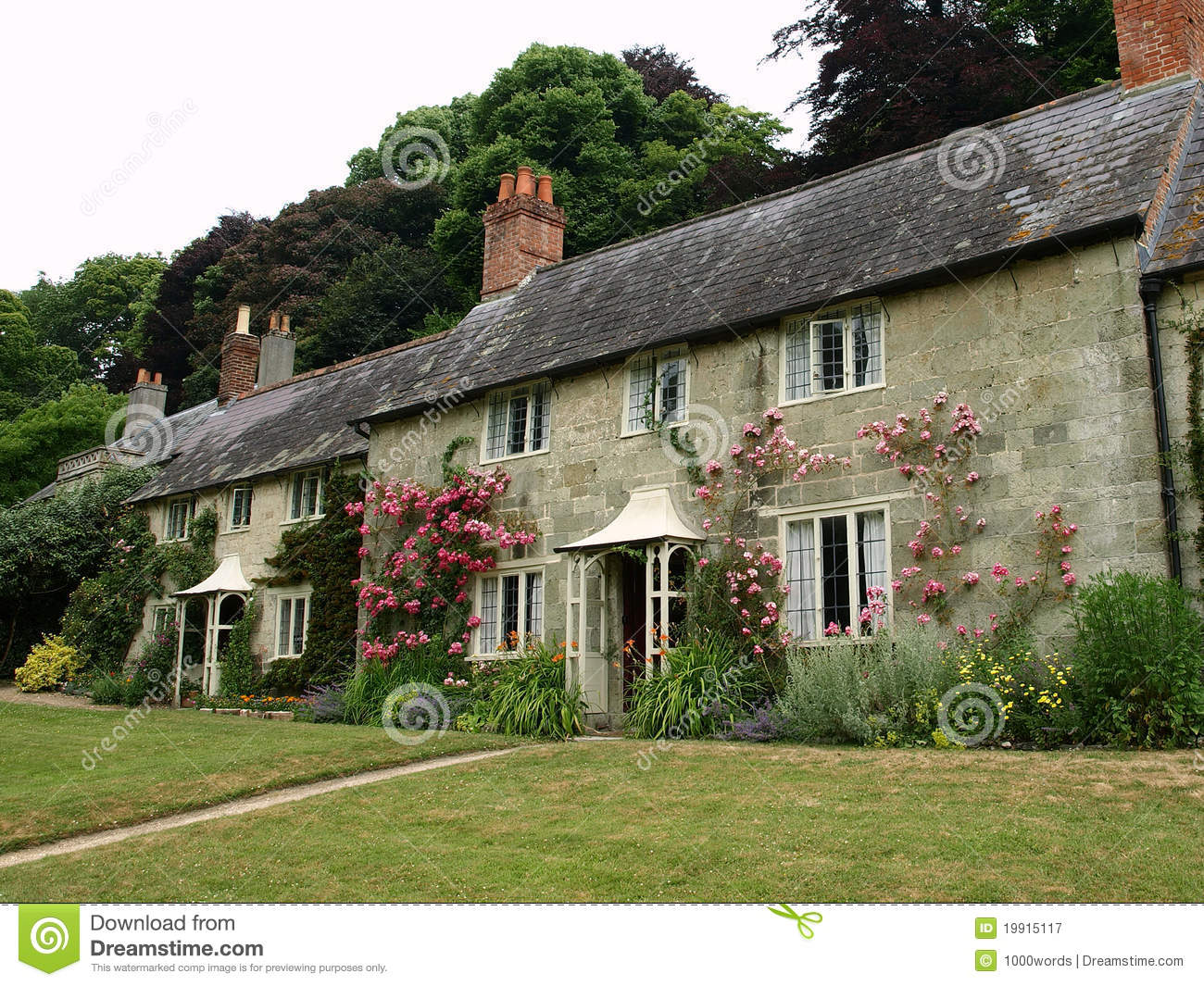 English Cottages Stock Image Image Of Architectural 19915117