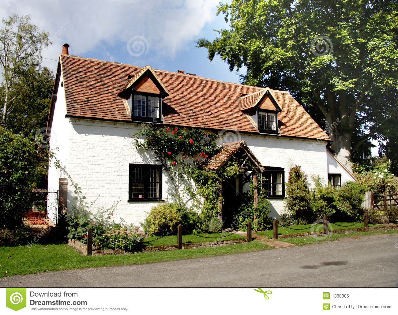 English country cottage royalty free stock image image for Pictures of english country cottages
