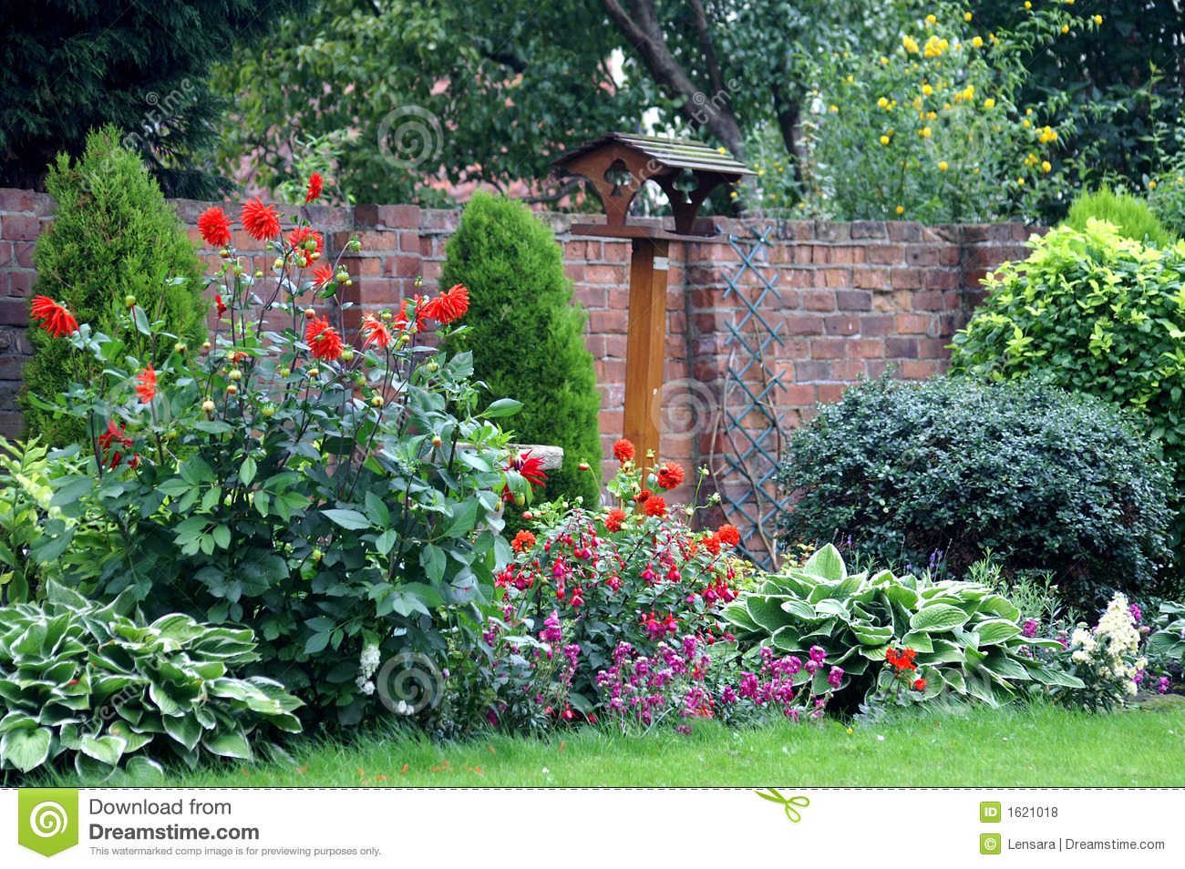 English Country Garden Royalty Free Stock Photos Image