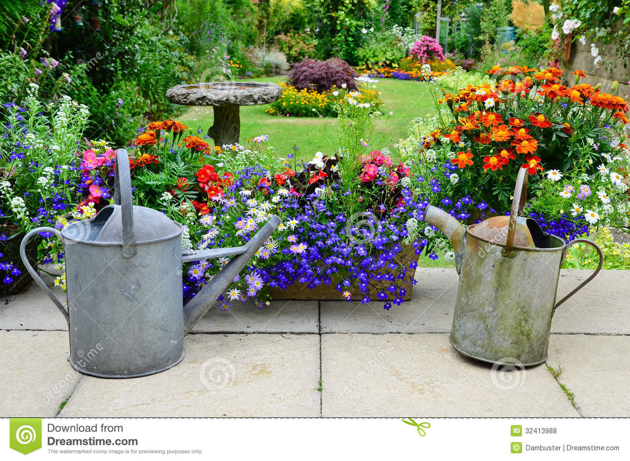 English Country Garden Stock Photo Image Of Outdoors