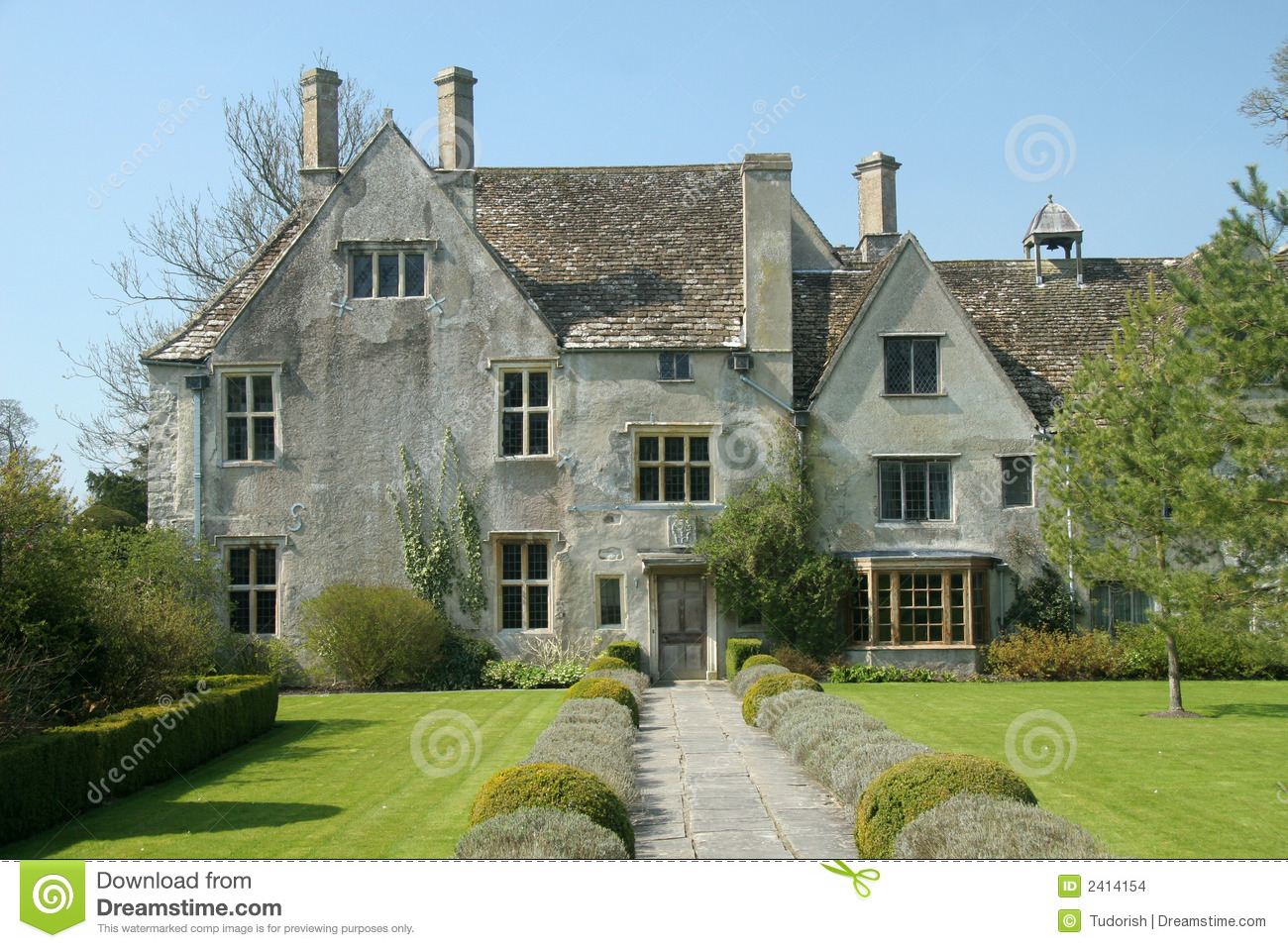 English country house stock photo image of high manor - Maison de campagne anglaise ...