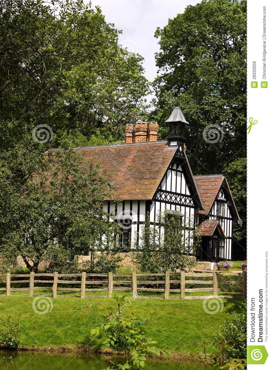English Country House Royalty Free Stock Photos Image