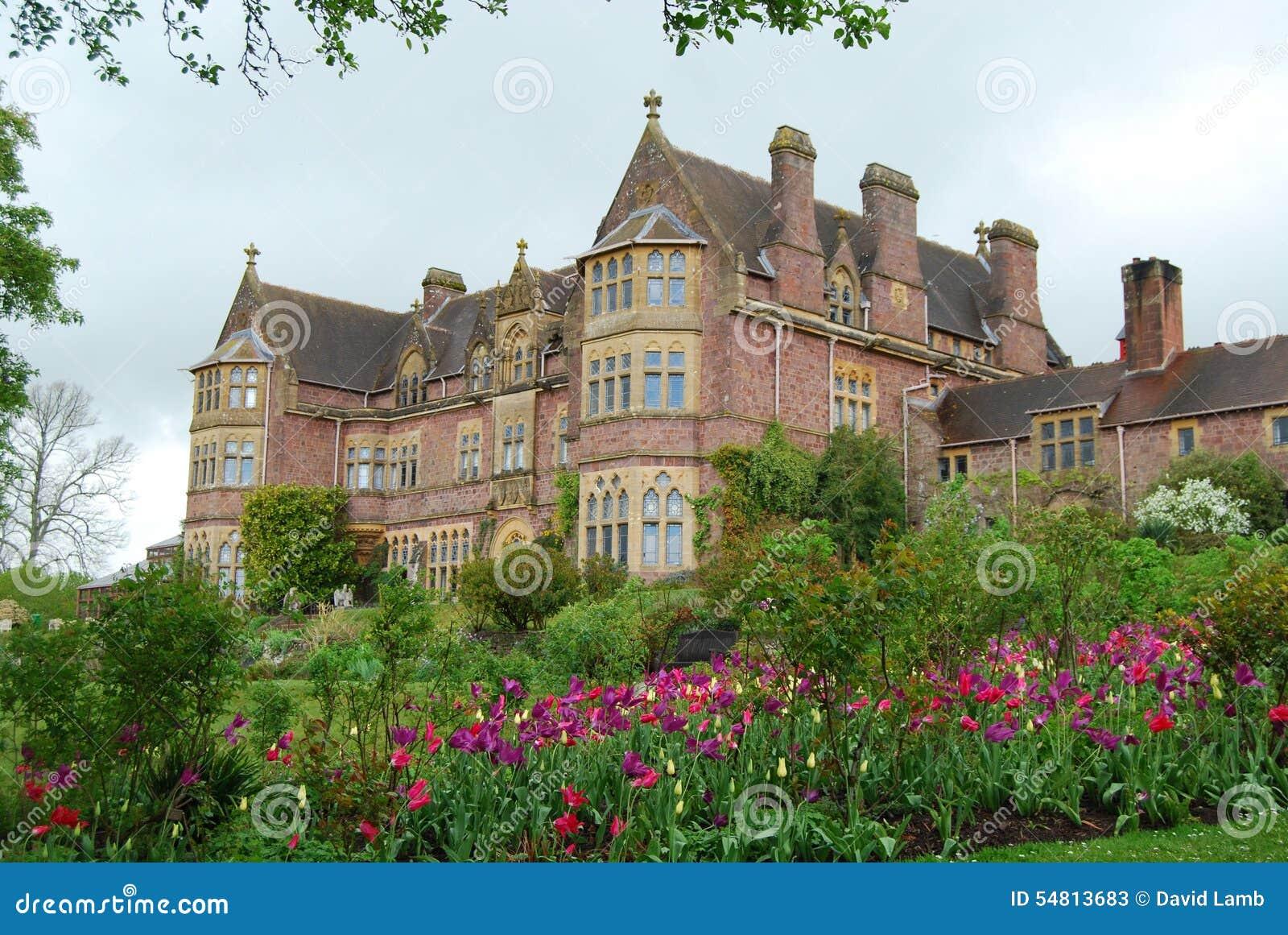 English Country House Devon Stock Photo Image 54813683