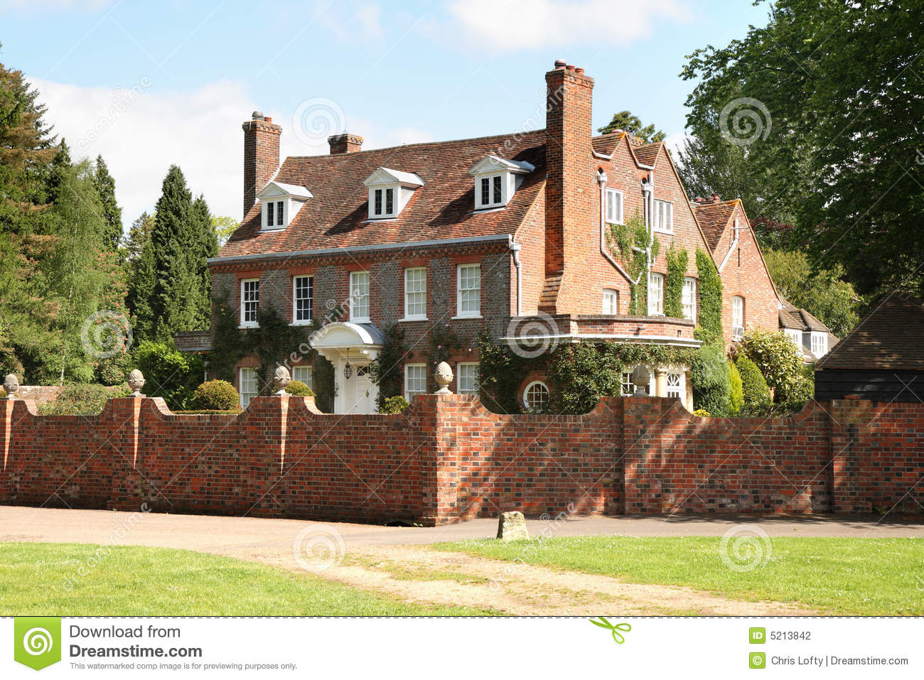 English country manor house stock photo image 5213842 for English country manor house plans
