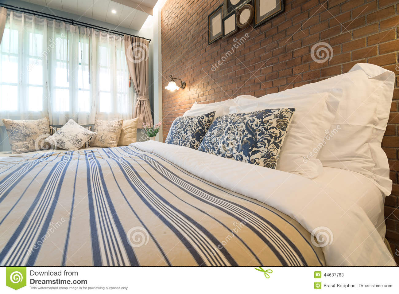 English country style bedroom stock photo image 44687783 - Beautiful snooze bedroom suites packing comfort in style ...