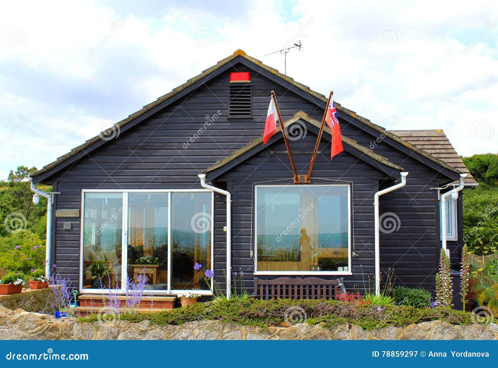 english country vacation bungalow kent england stock image image