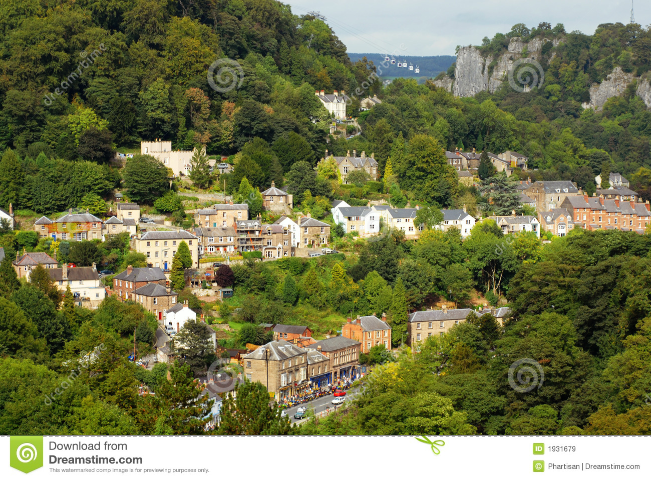 English Country Village Royalty Free Stock Images - Image: 1931679