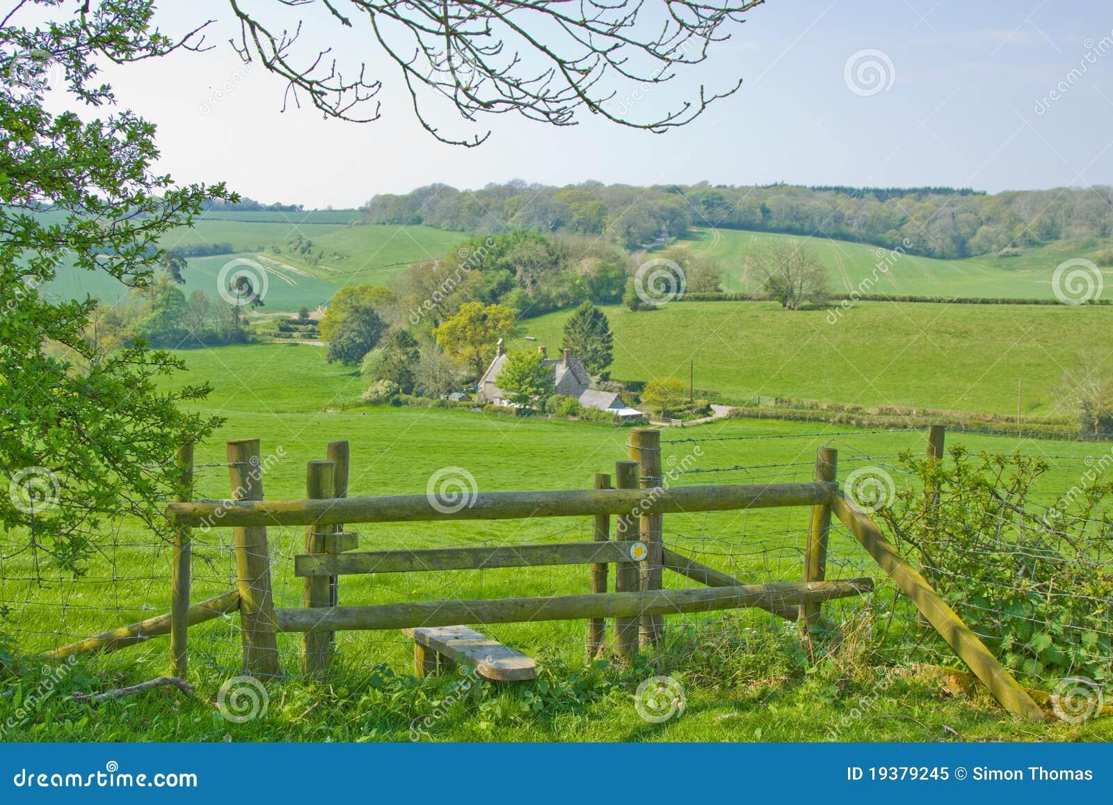 English Countryside Stile Royalty Free Stock Photo - Image: 19379245