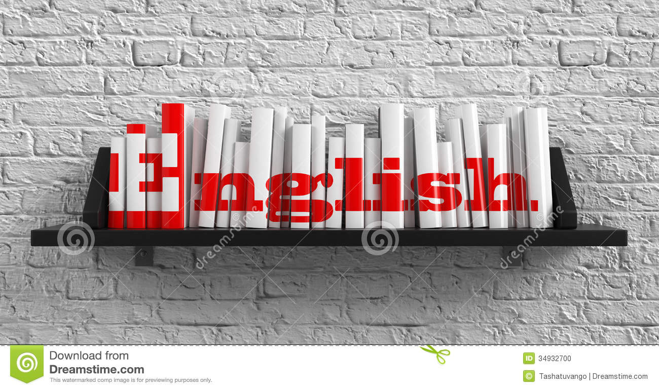 English. Education Concept. Illustration 34932700 - Megapixl