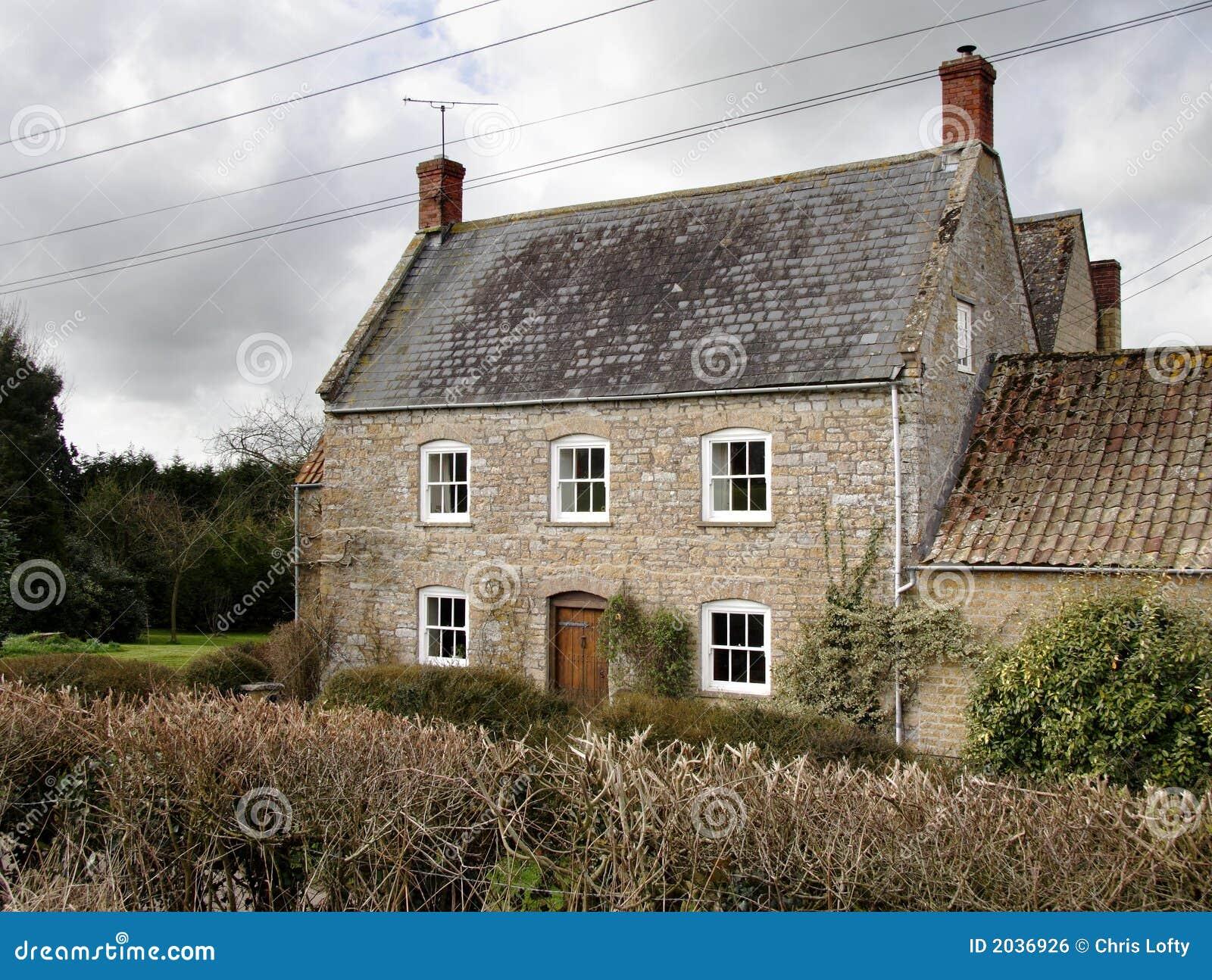 English Farmhouse Royalty Free Stock Image Image