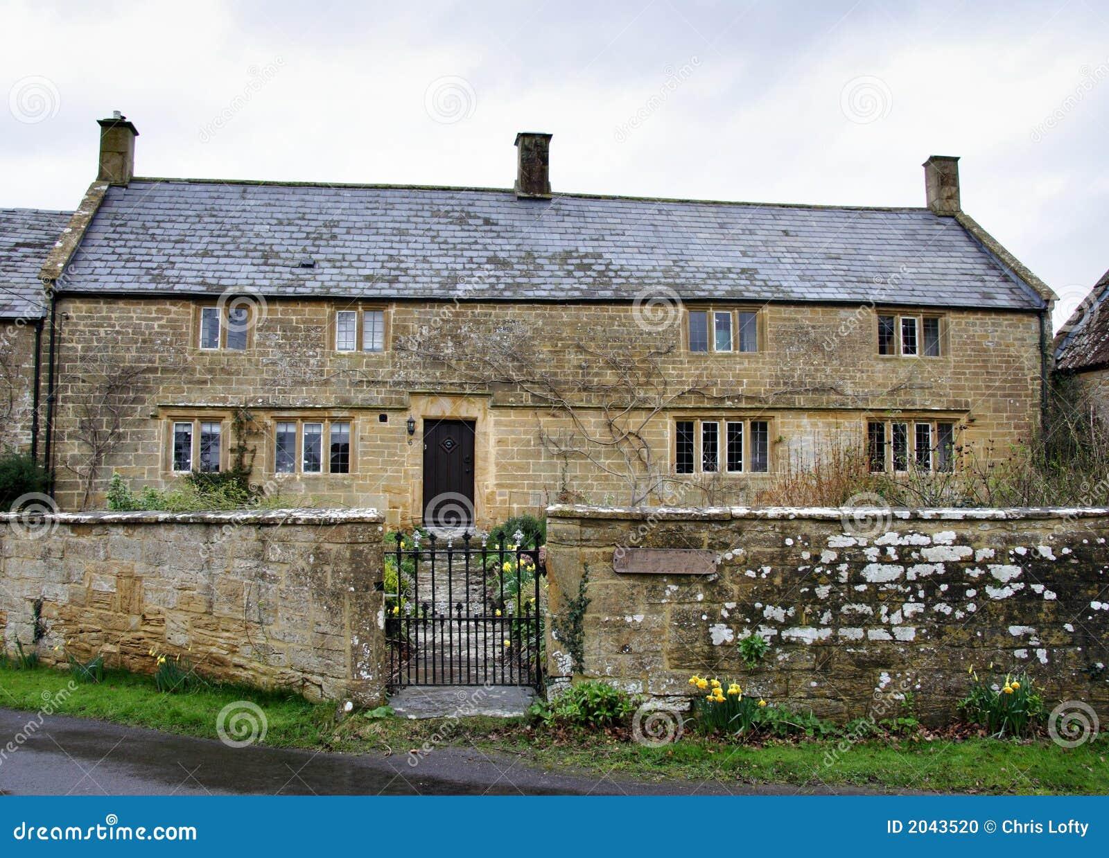 English Farmhouse Stock Image