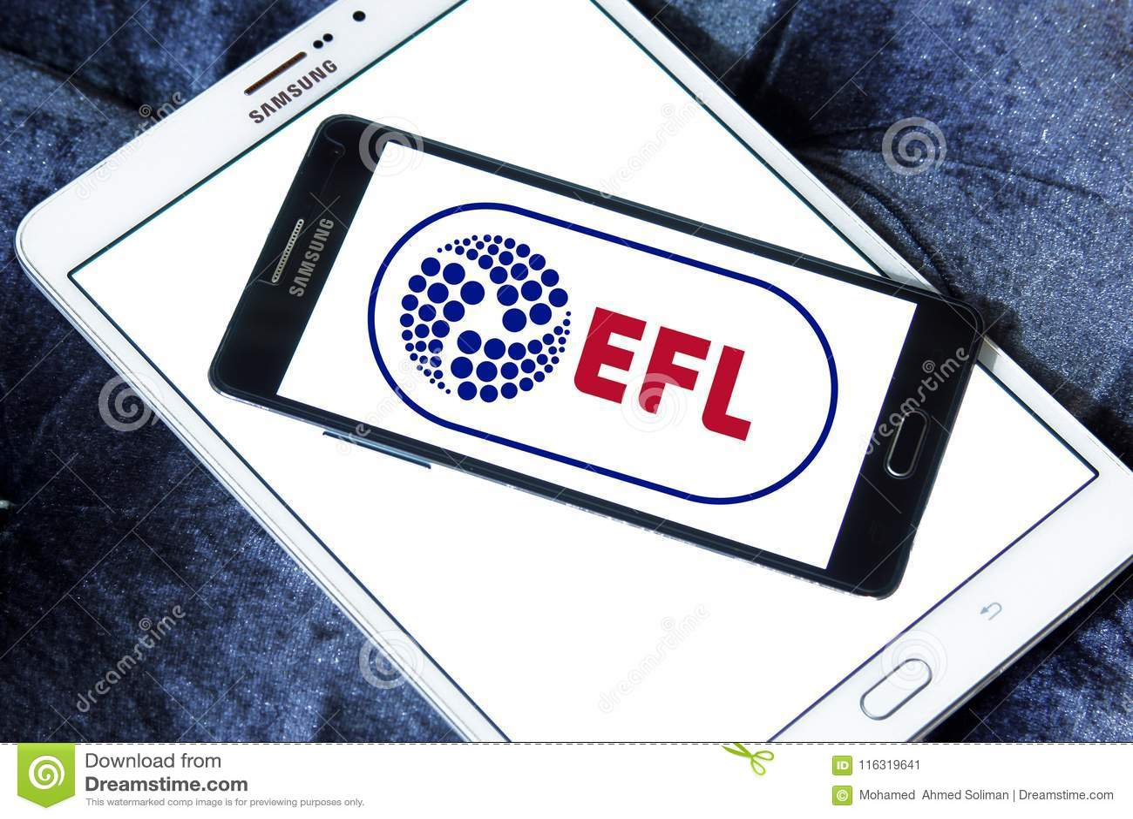 English Football League, EFL, Logo Editorial Photo - Image of ...