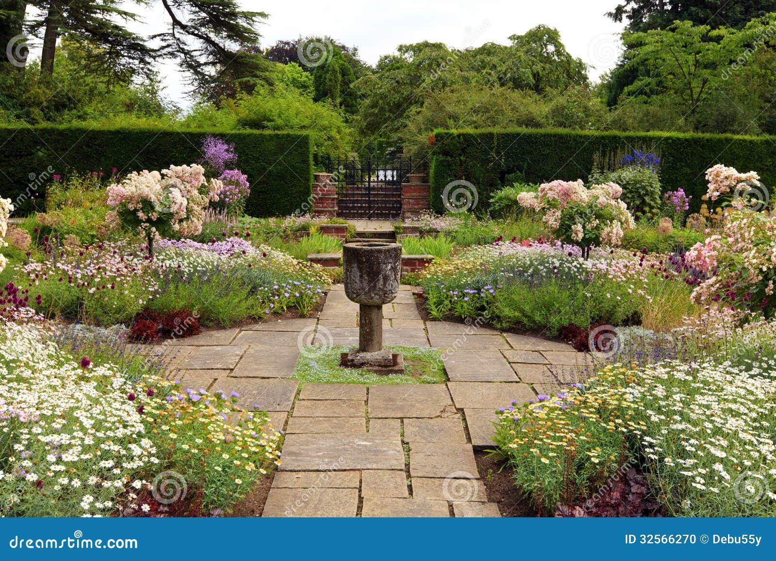 Formal English Garden Design LONG HAIRSTYLES