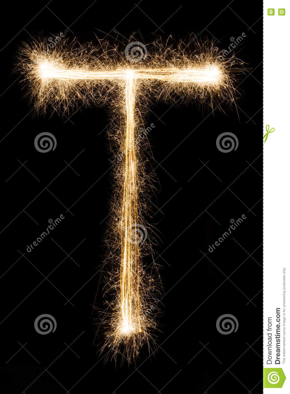 English letter t from sparklers alphabet on black background stock download english letter t from sparklers alphabet on black background stock image image of thecheapjerseys Image collections