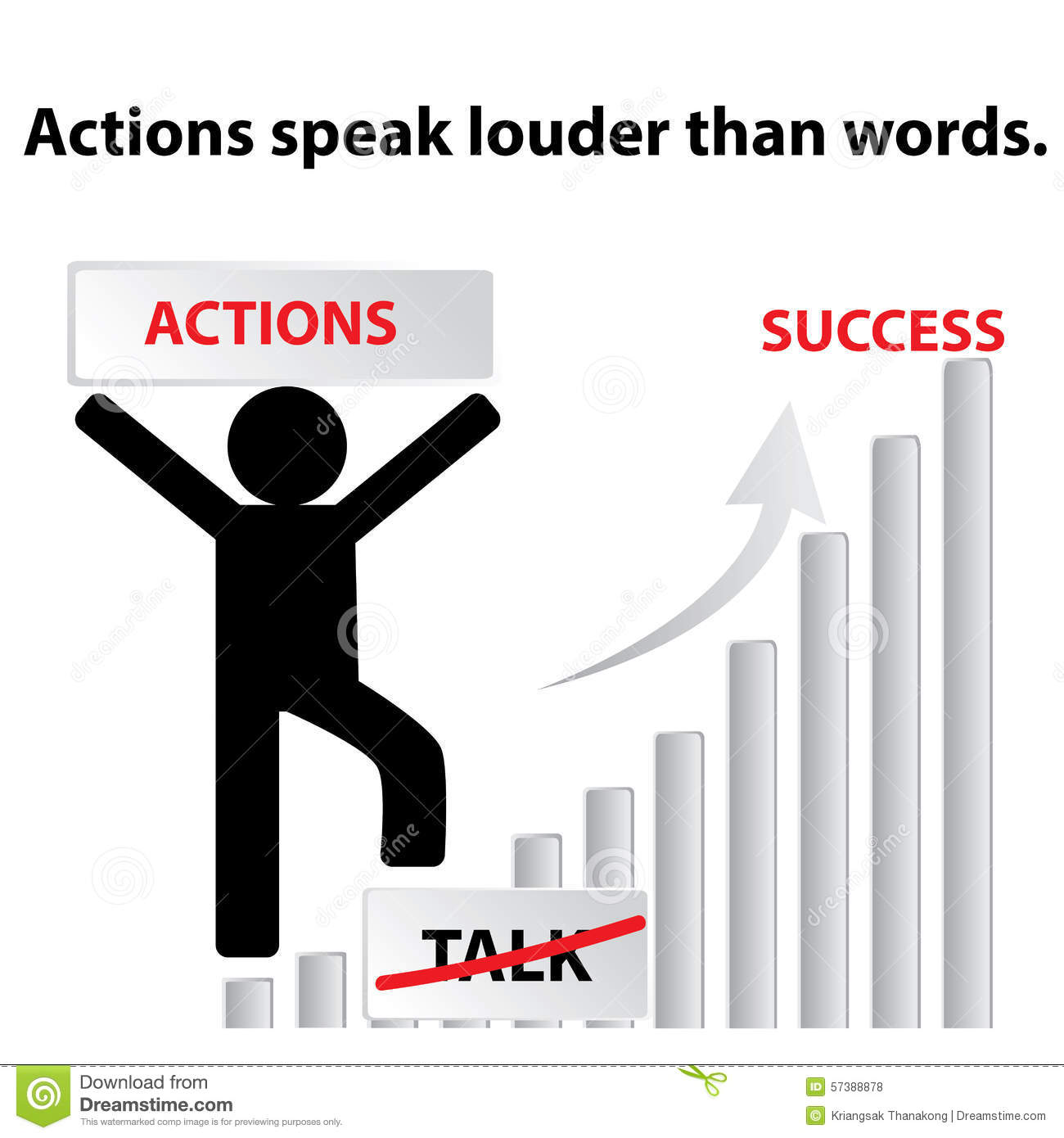Actions are louder than words 2