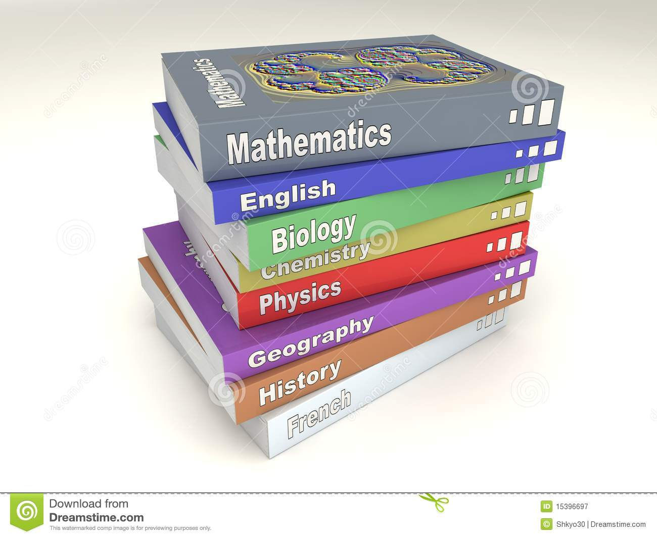 english school books stack stock image image of school 15396697 stack of books vector png Book Spine Vector