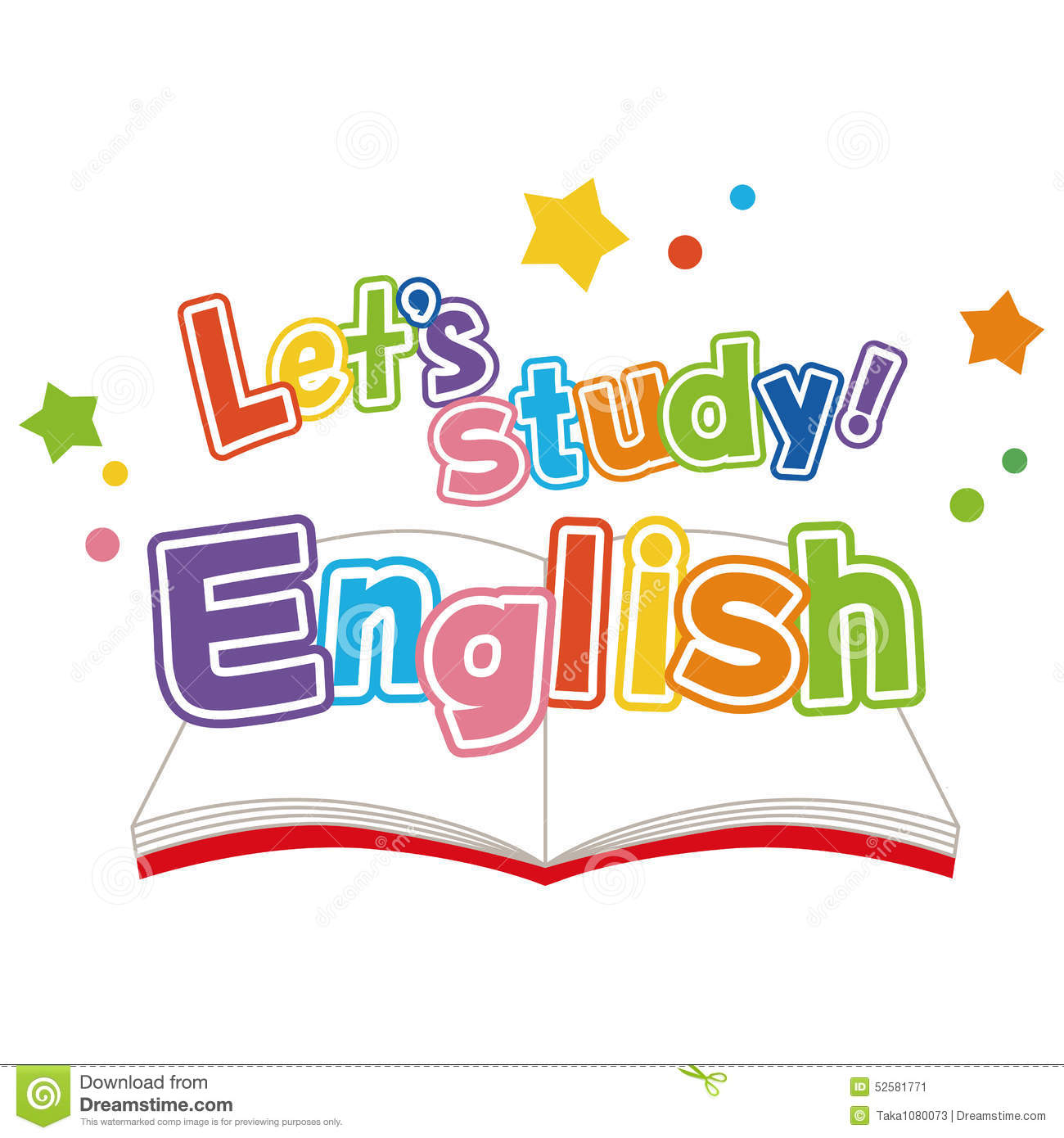 english study stock vector   image 52581771