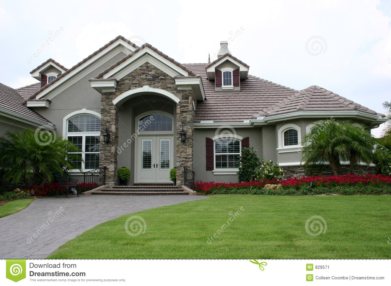 English style estate home stock image image 829571 for Home and style