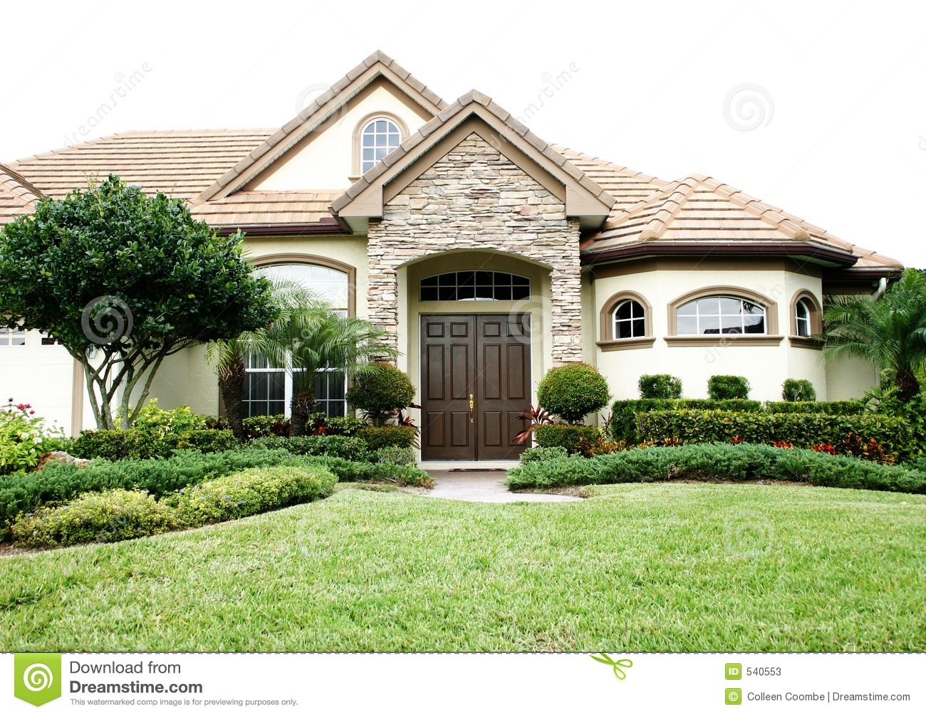 English Style Home Stock Photos Image 540553