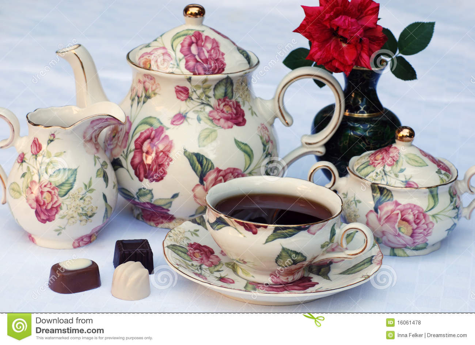 English Tea Royalty Free Stock Photos Image 16061478