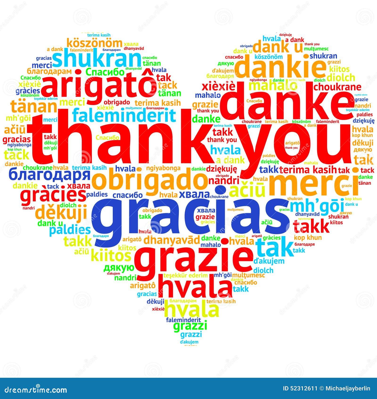 vielen dank in english