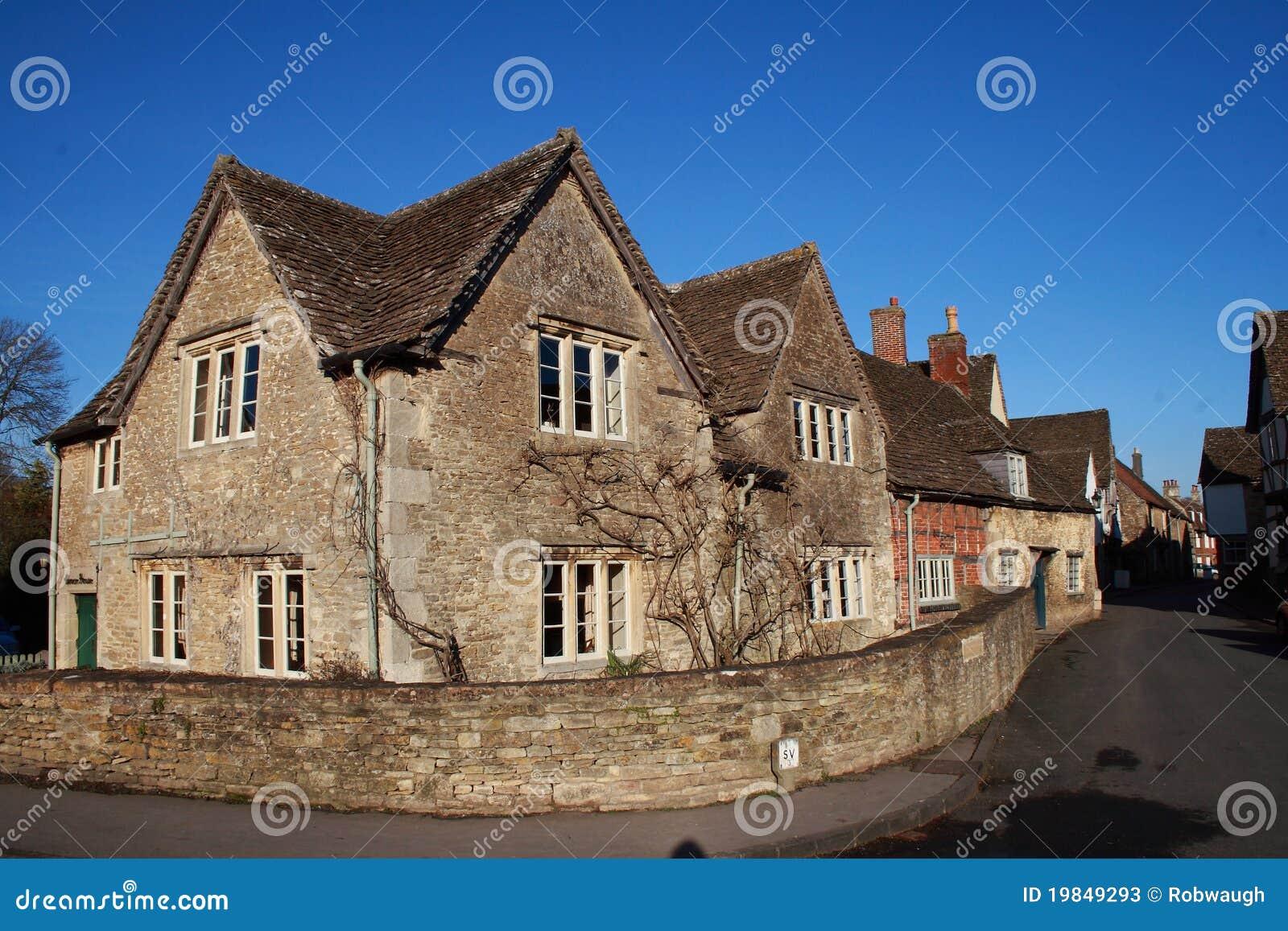 Tudor House Clipart