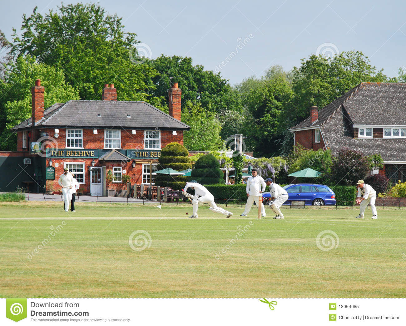 a village cricket match 2 essay Cricket essay 2 (150 words) cricket cricket match is played with two teams of 11 players in each and whole test match contains two innings of first innings and.