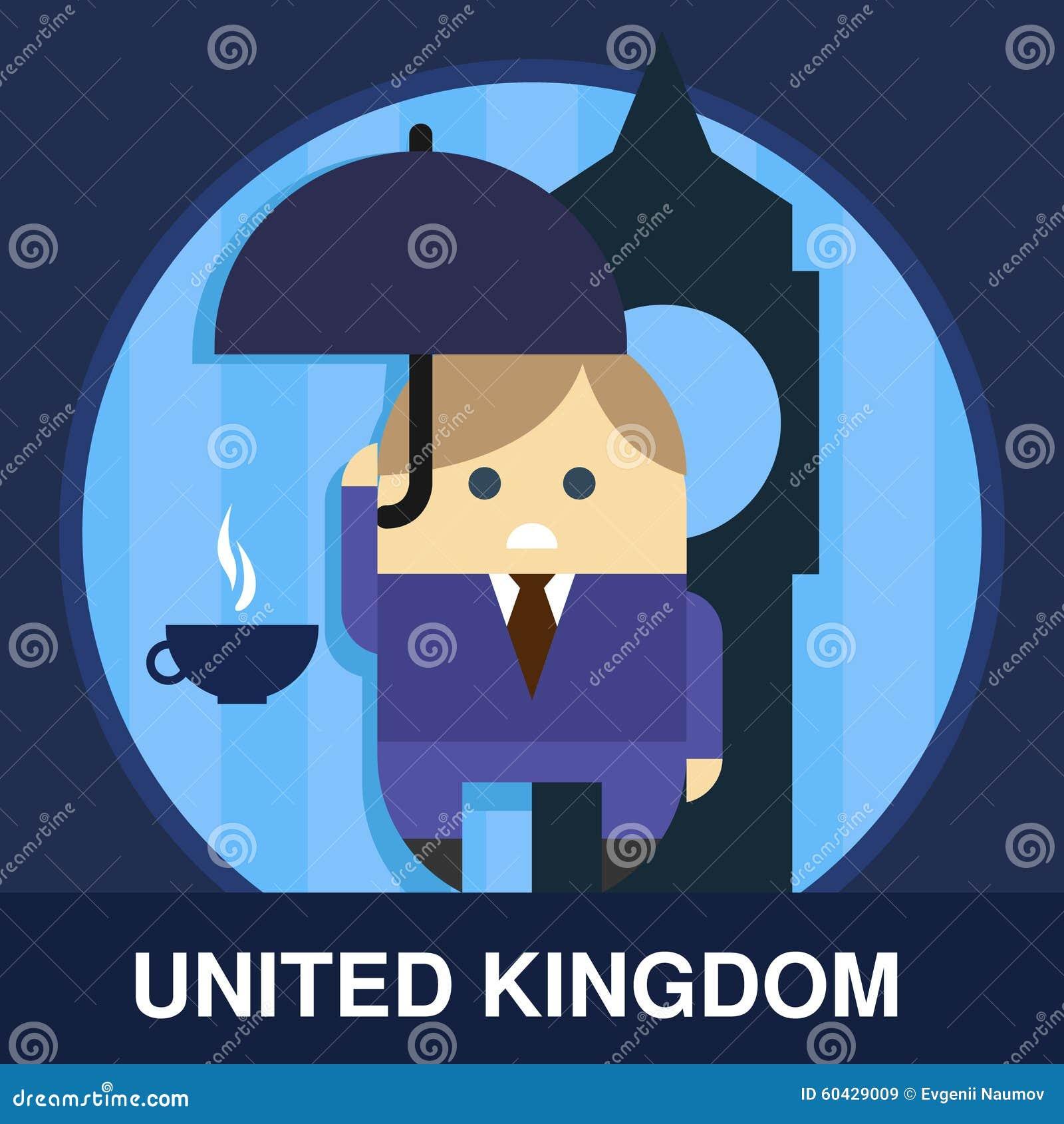 englishman vector illustration stock vector image 60429009