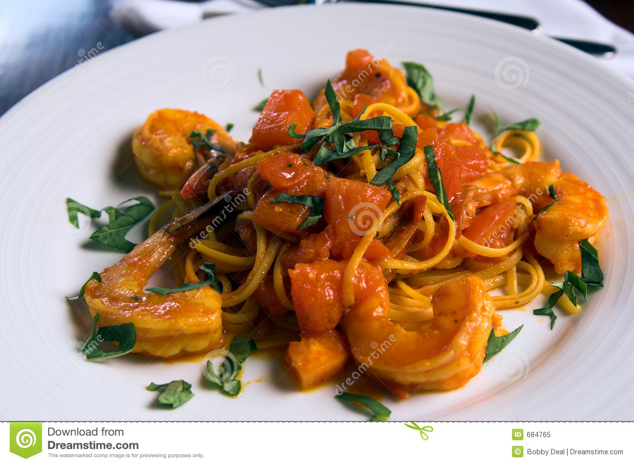 Engodo Scampi do Linguine