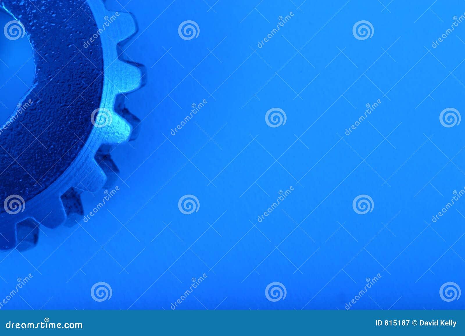 Engranaje azul 6