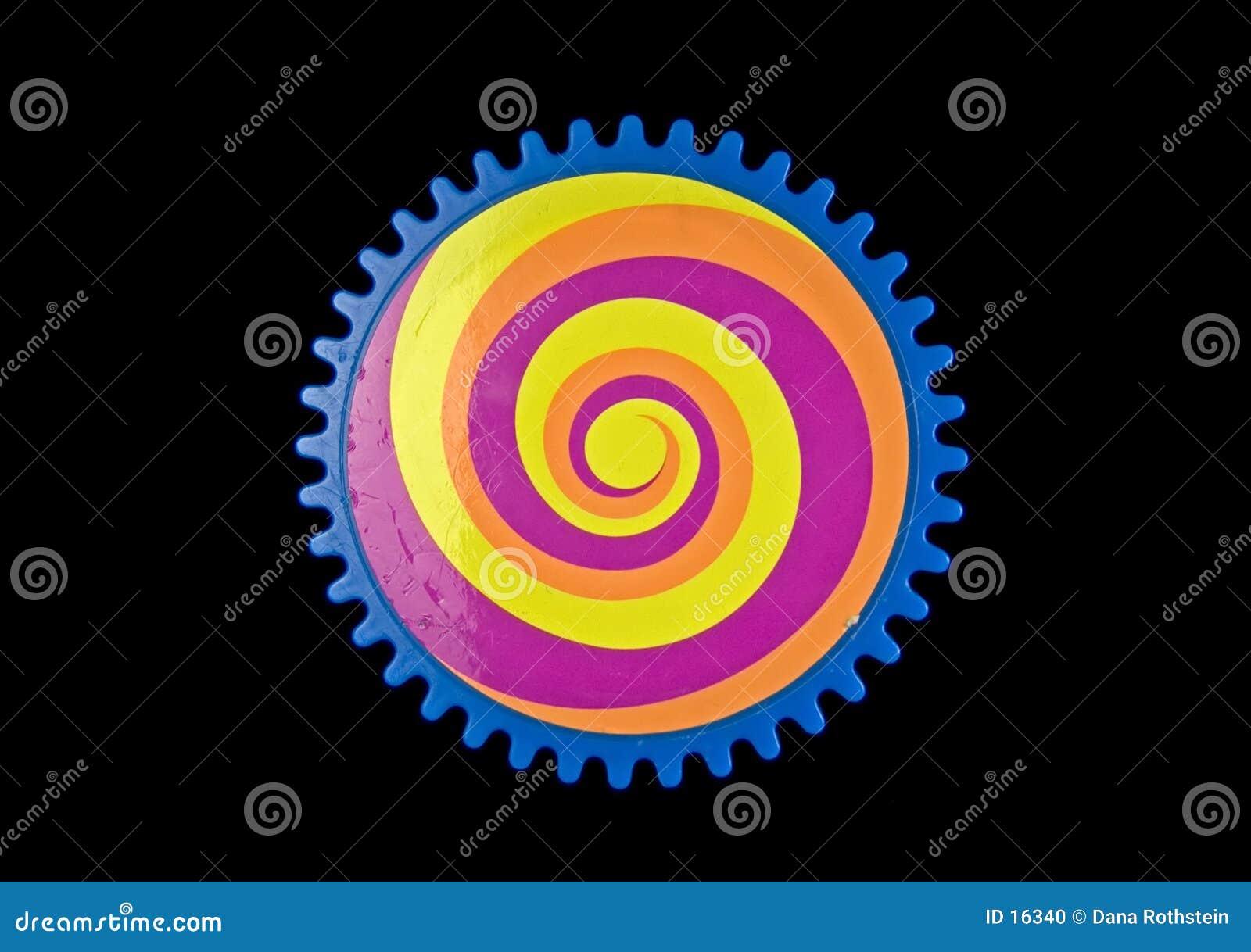 Engranaje coloreado