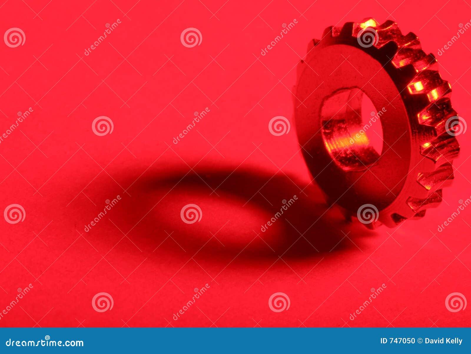 Engranaje rojo 2