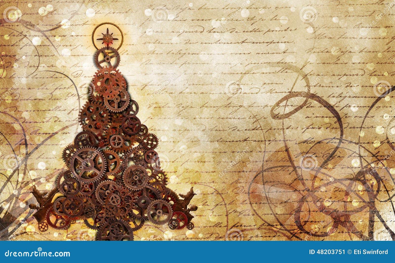 Engranajes del árbol de navidad