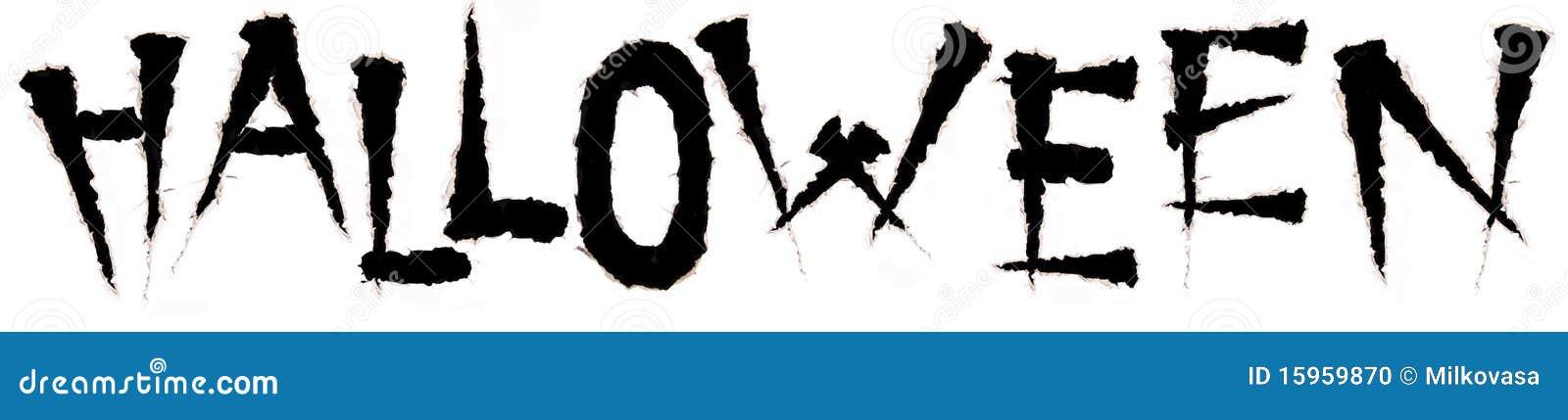 engraved word halloween stock photo image of celebrate 15959870
