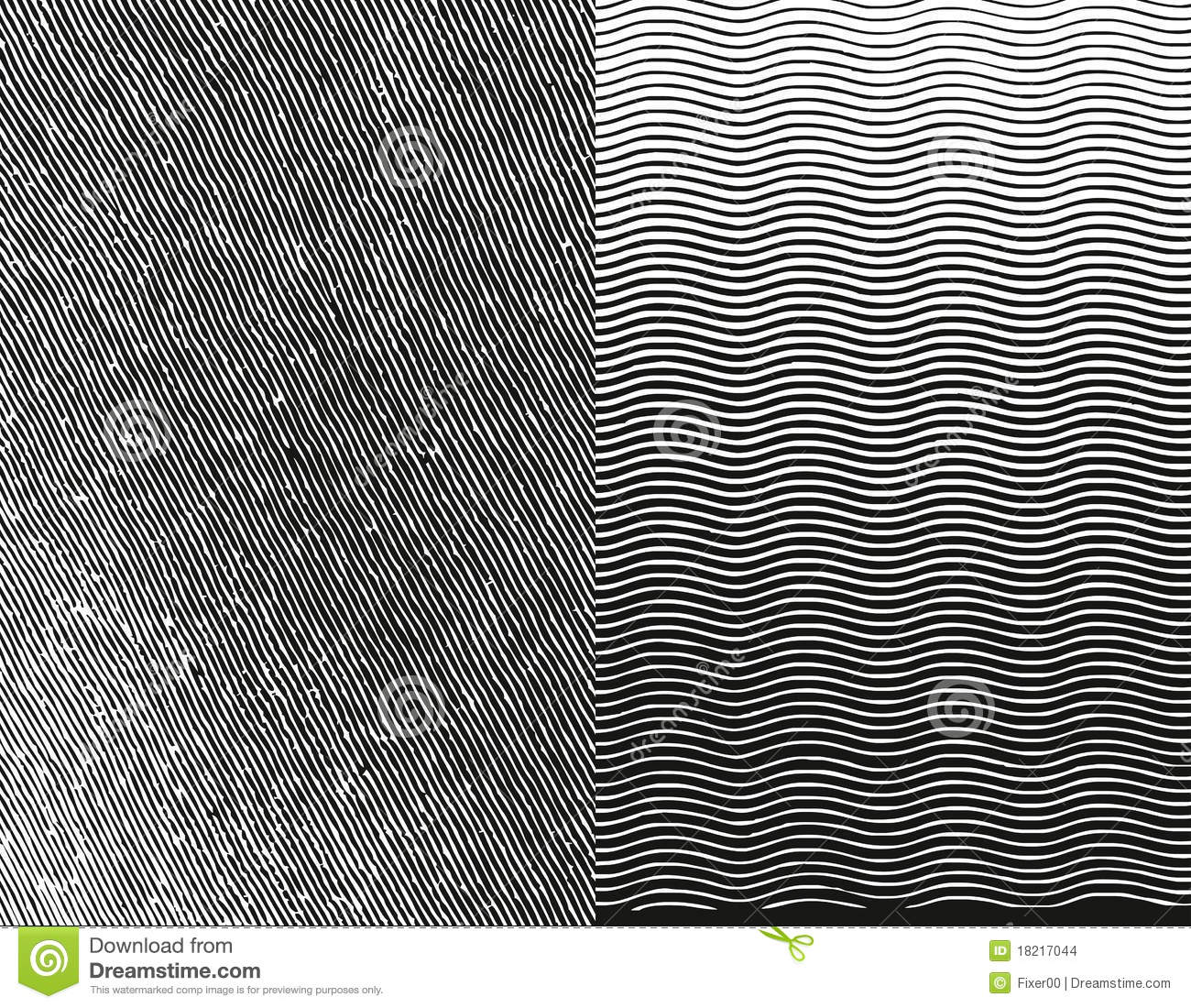 Line Texture Illustrator : Engraving texture vector illustration stock