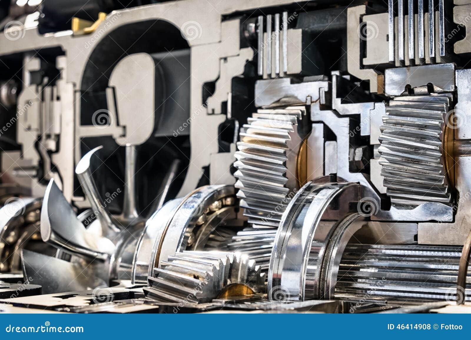Engrenagem automática de seção transversal