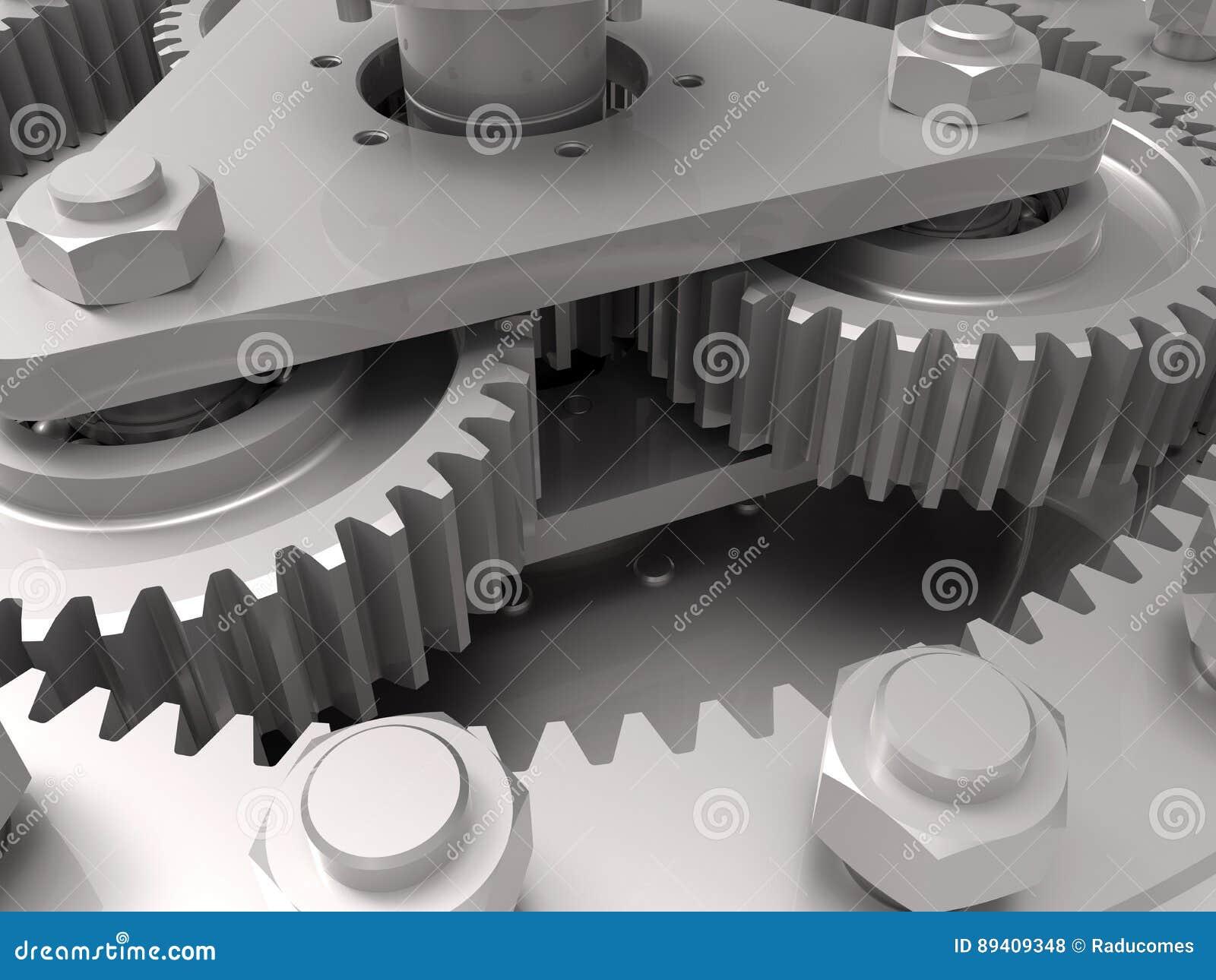 Engrenagens - conceito da engenharia mecânica