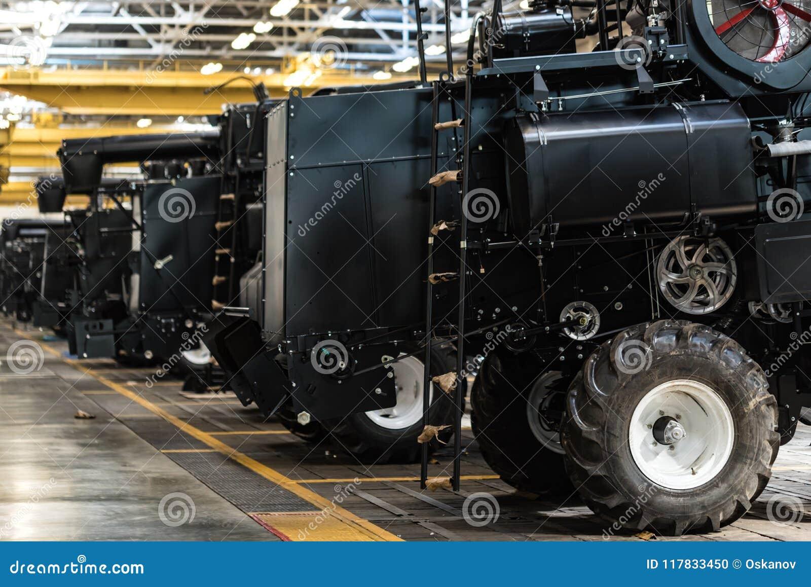 Enhetsseminariuminre på den stora industrianläggningen