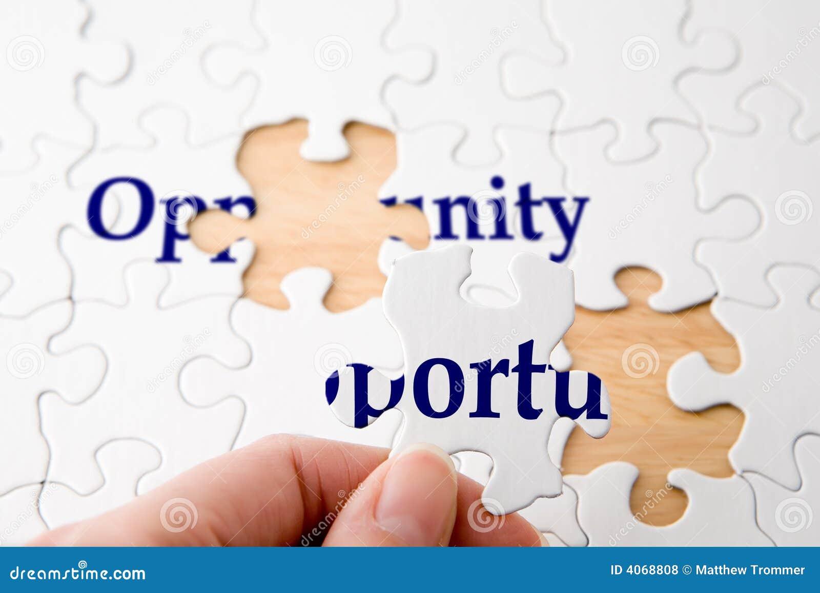 Enigma da oportunidade