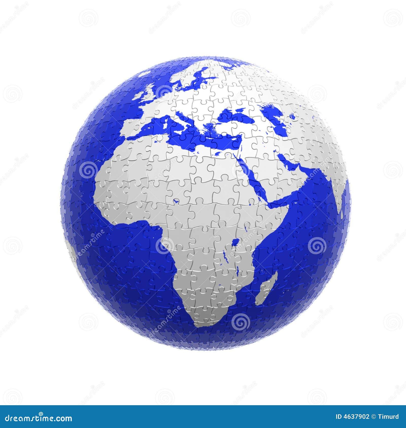 Enigma do globo da terra