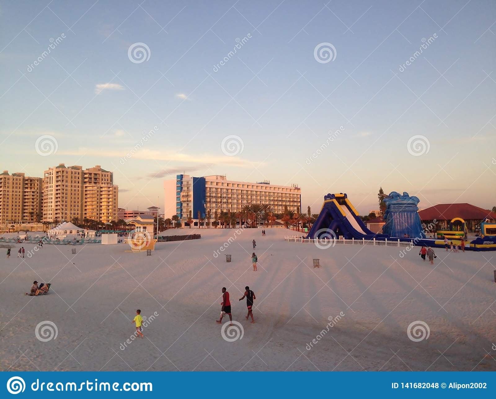 Enjoy the sand of Clearwater, Tampa