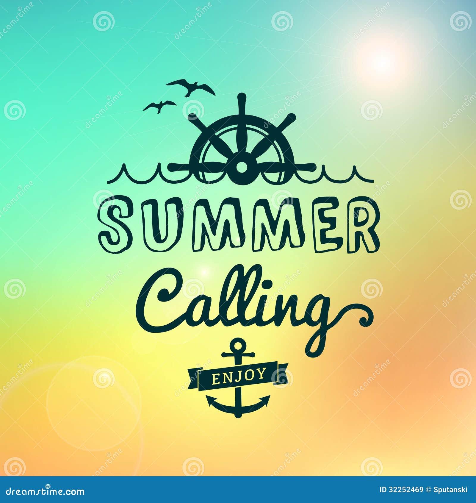 Enjoy Summer Calling Sunrise Hawaii Vintage Poster Royalty