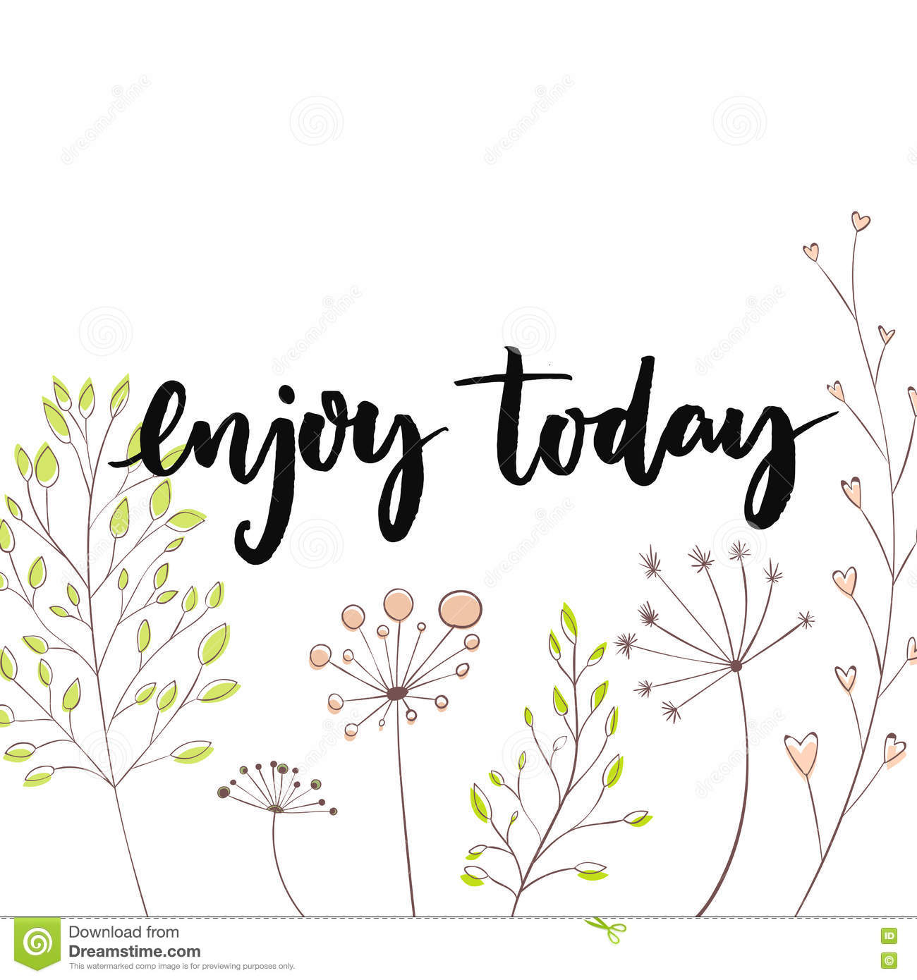 Happy spring day message