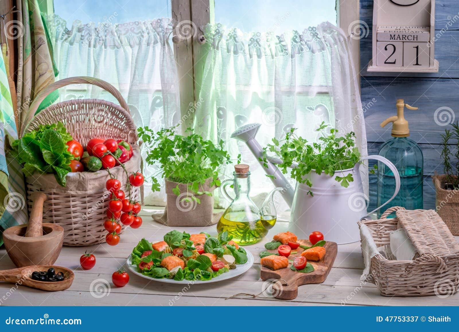 Enjoy Your Spring Kitchen Stock Photo - Image: 47753337