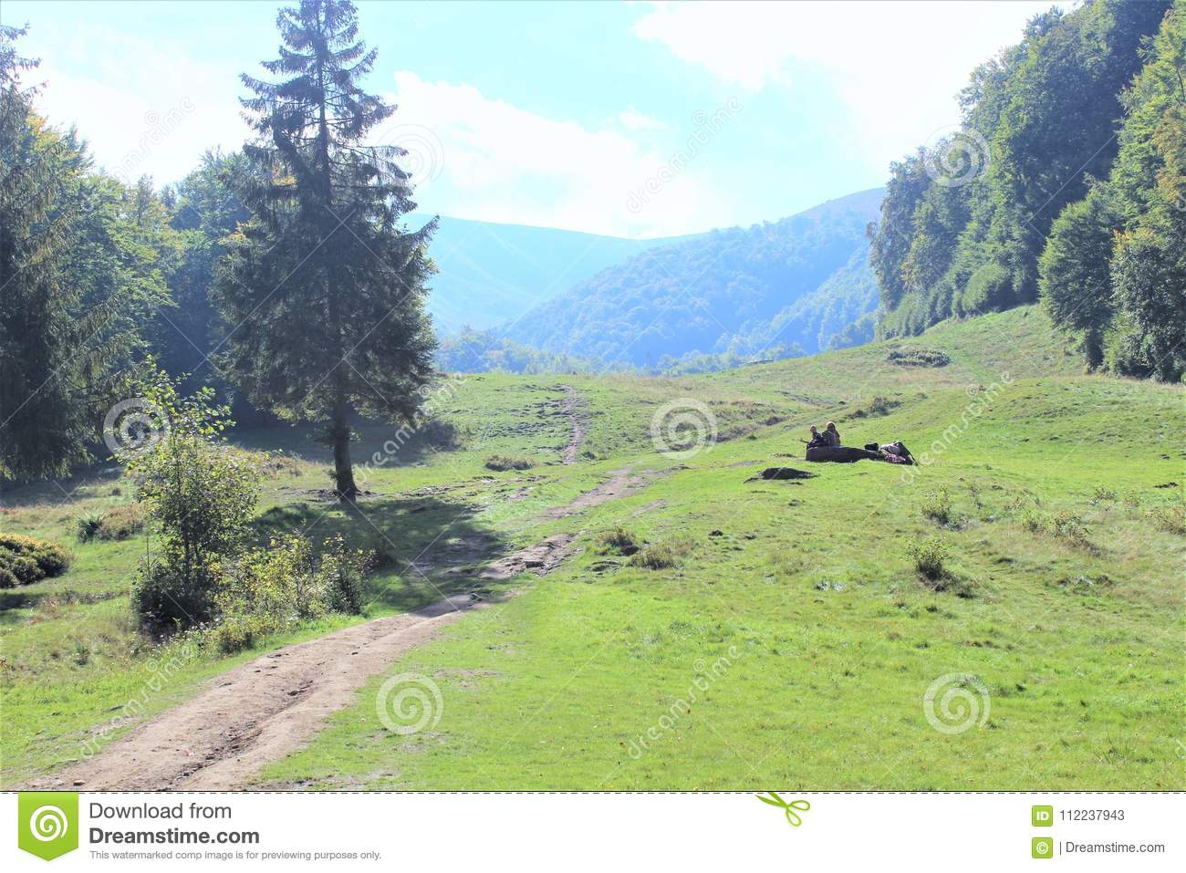 Enjoy your travel with Carpathians mountains, Beauty of the village